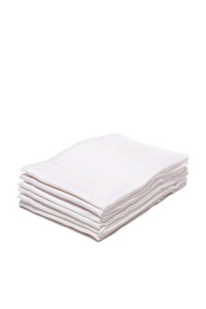 hydrofiel luiers 70x70 cm wit (6 stuks)