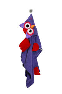 Zoocchini Olive the Owl kids badcape, Paars