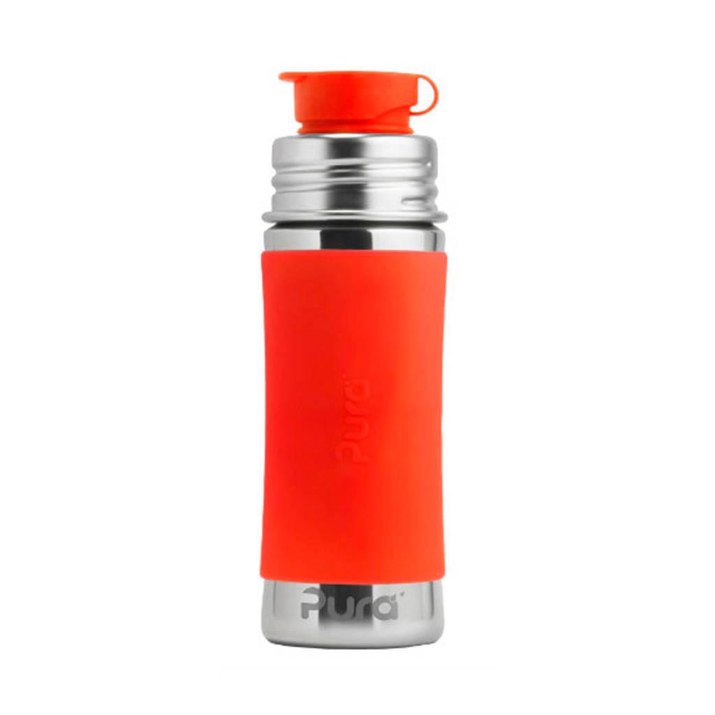 Pura sportfles 325 ml oranje, Oranje