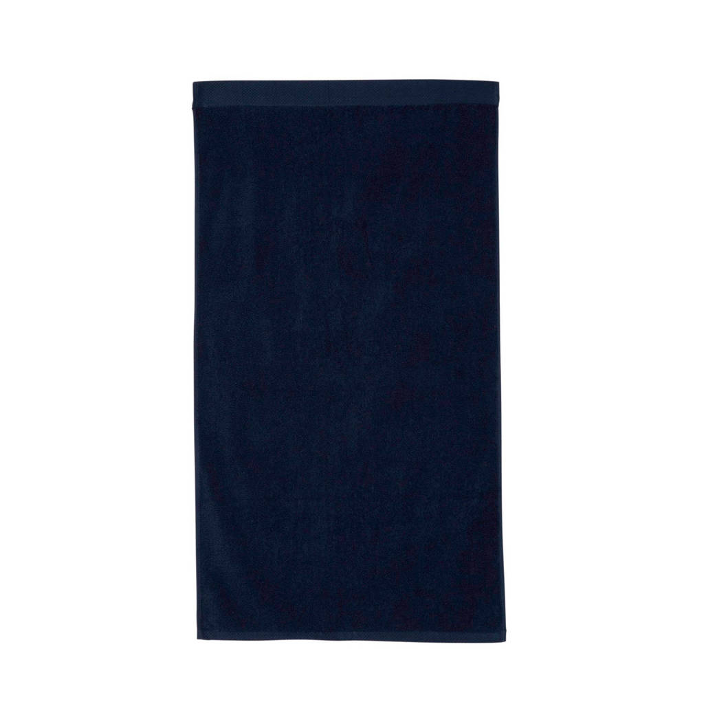 Seahorse handdoek Pure (60 x 110 cm) Donkerblauw