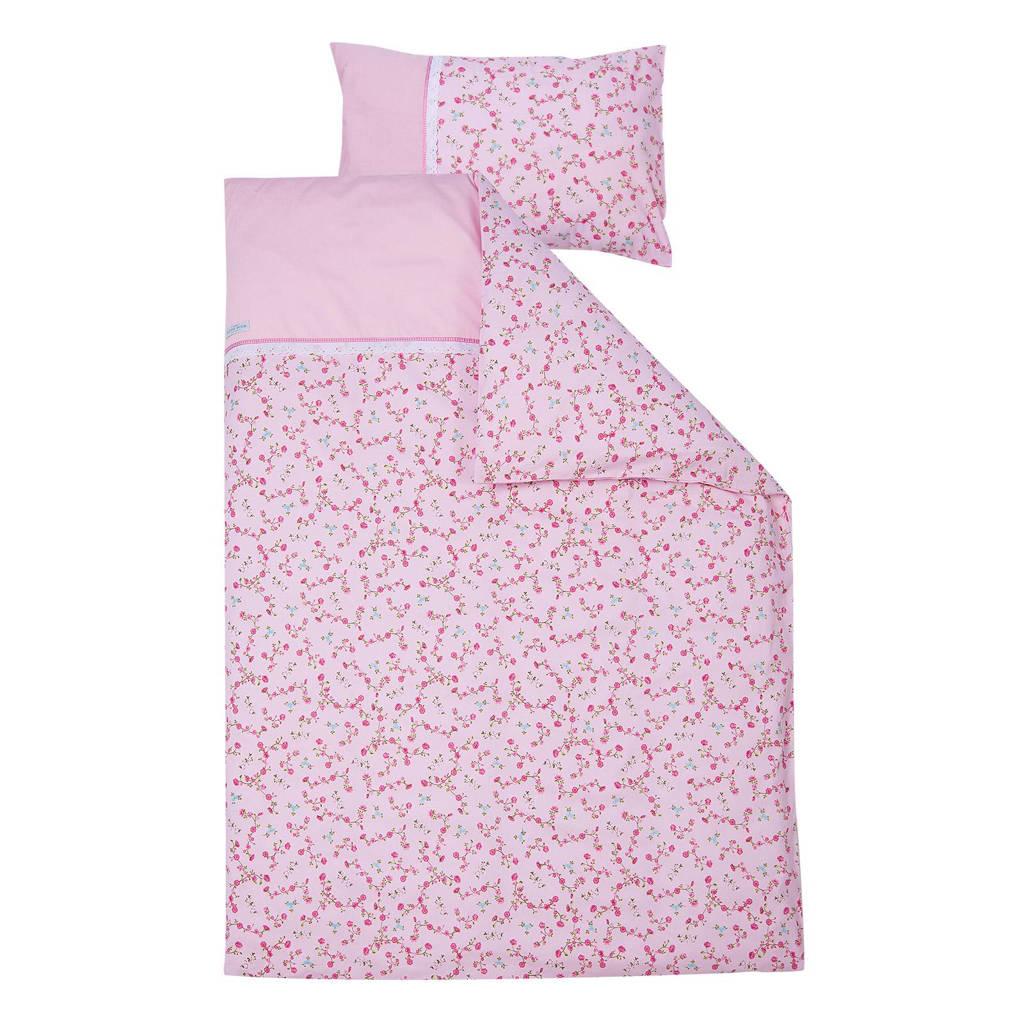 Little Dutch ledikant dekenovertrek pink blossom, Pink Blossom