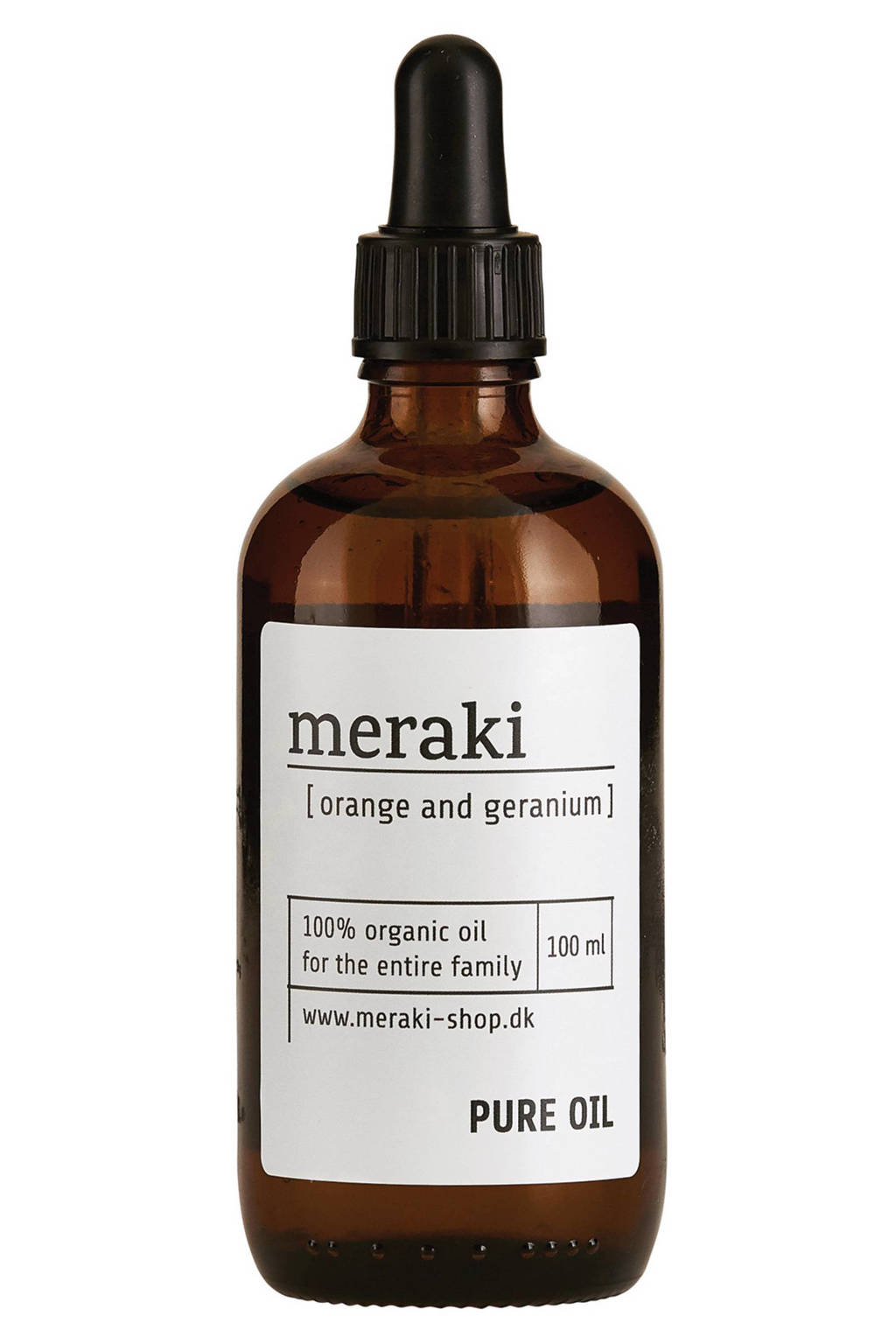 Meraki Pure olie Orange & Geranium - 100 ml