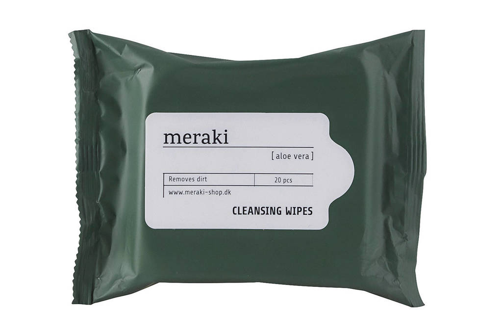 Meraki verfrissende reinigingsdoekjes met Aloe Vera - 20 stuks
