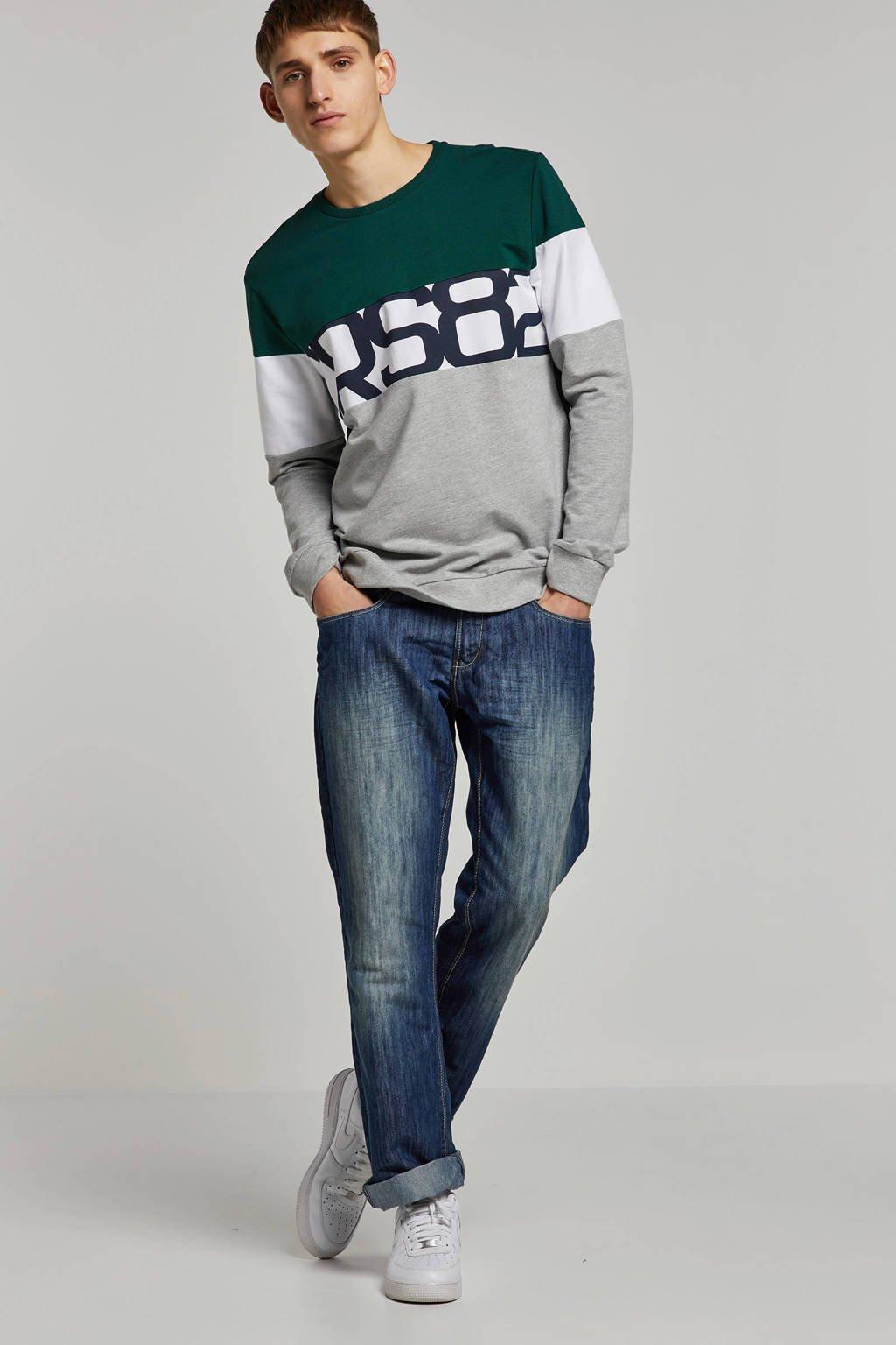 Cars Atross regular fit jeans, Stone used
