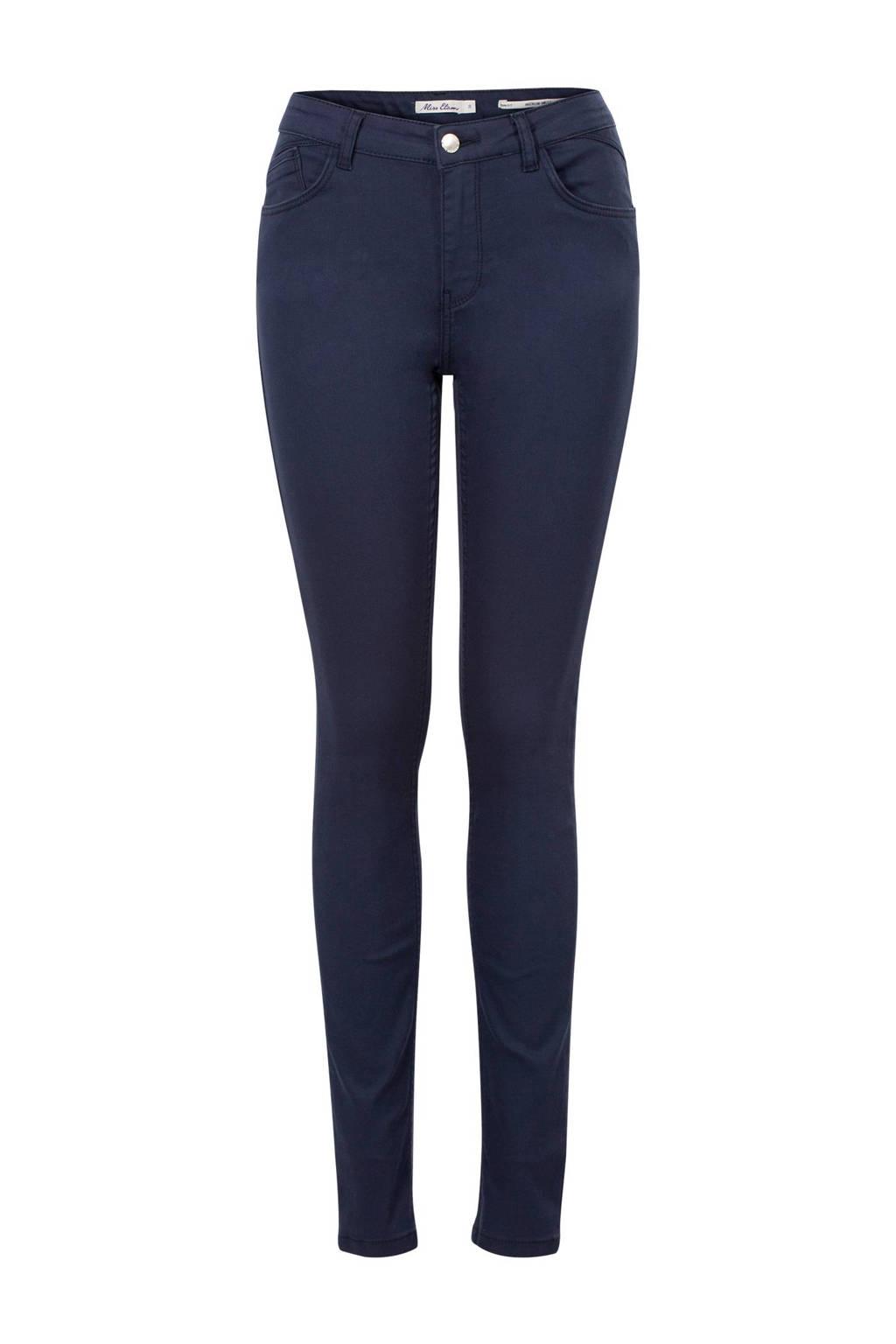 Miss Etam Lang slim fit broek Elisa 36 inch, Marine
