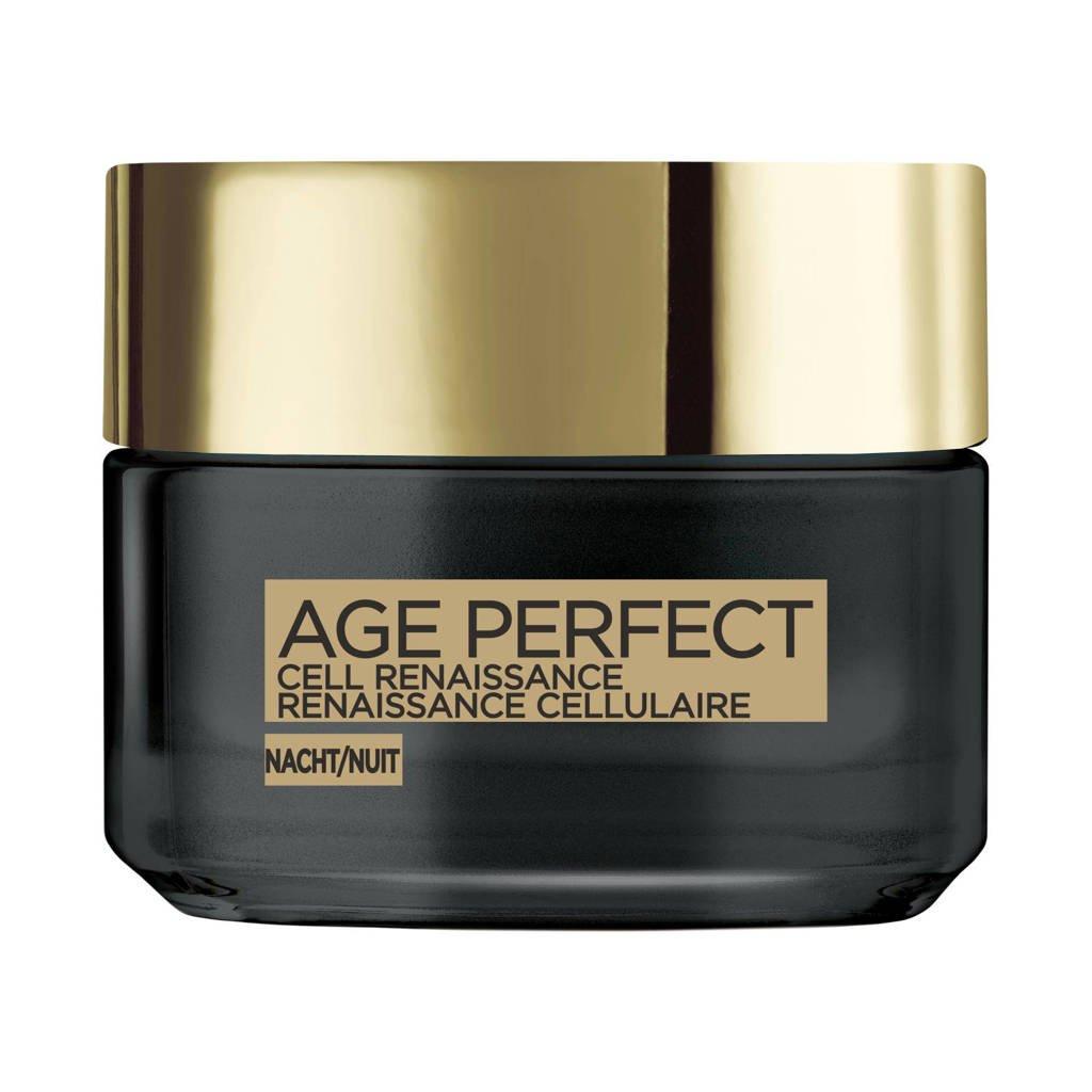 L'Oréal Paris Skin Expert Age Perfect - Cell Renaissance nachtverzorging - 50 ml