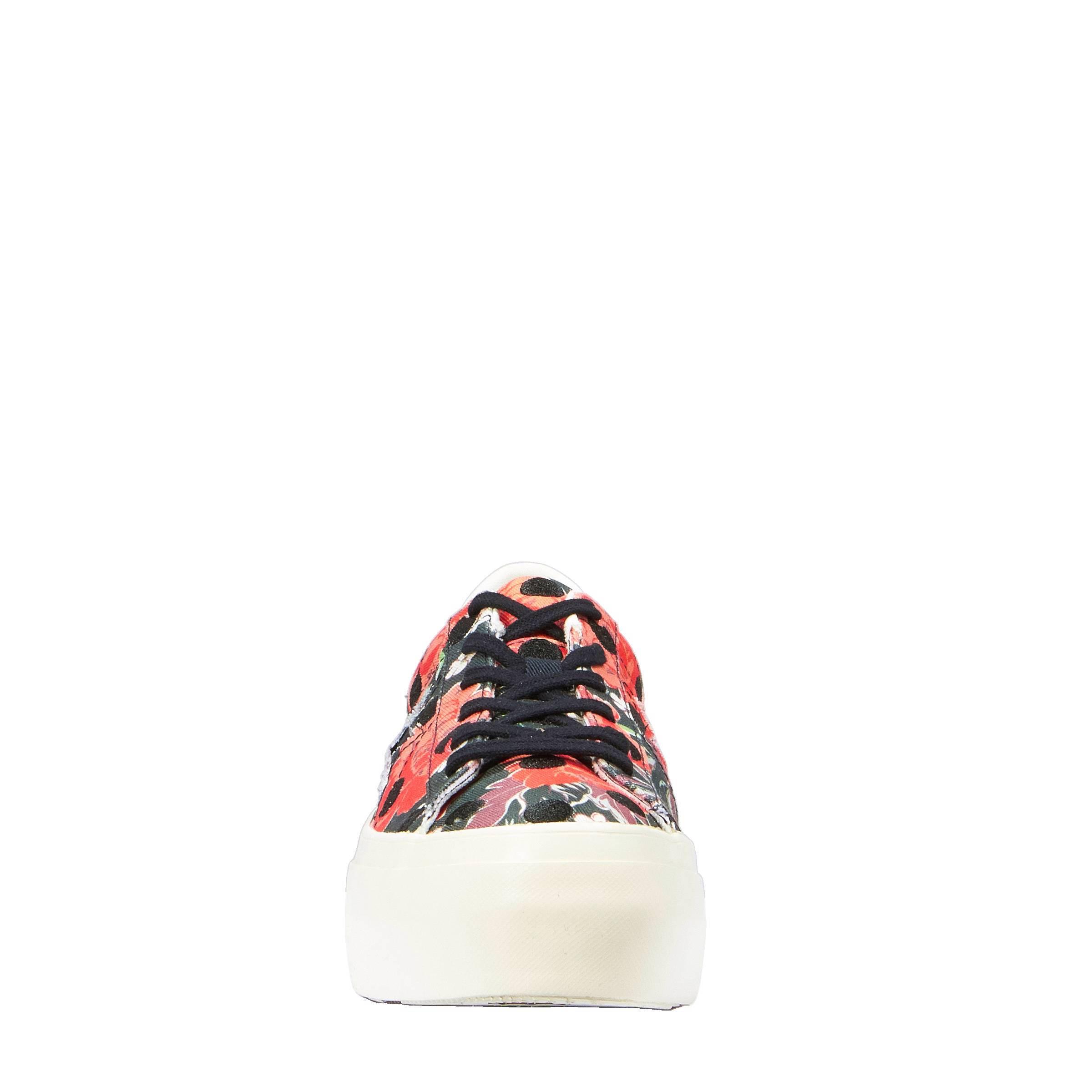 Converse One Star Platform Ox W schoenen zwart