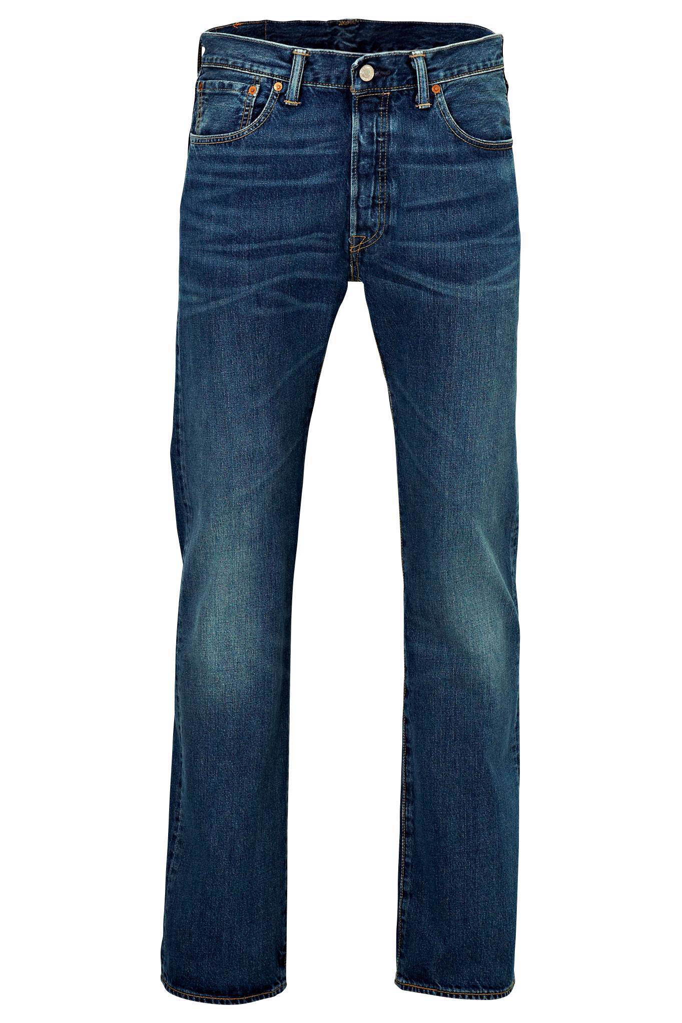 Levi's 501 regular fit jeans (heren)