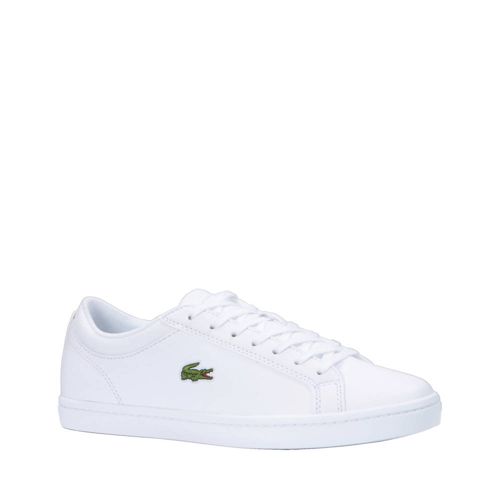 Lacoste sneakers Straightset BL 1 CAM, Wit/groen