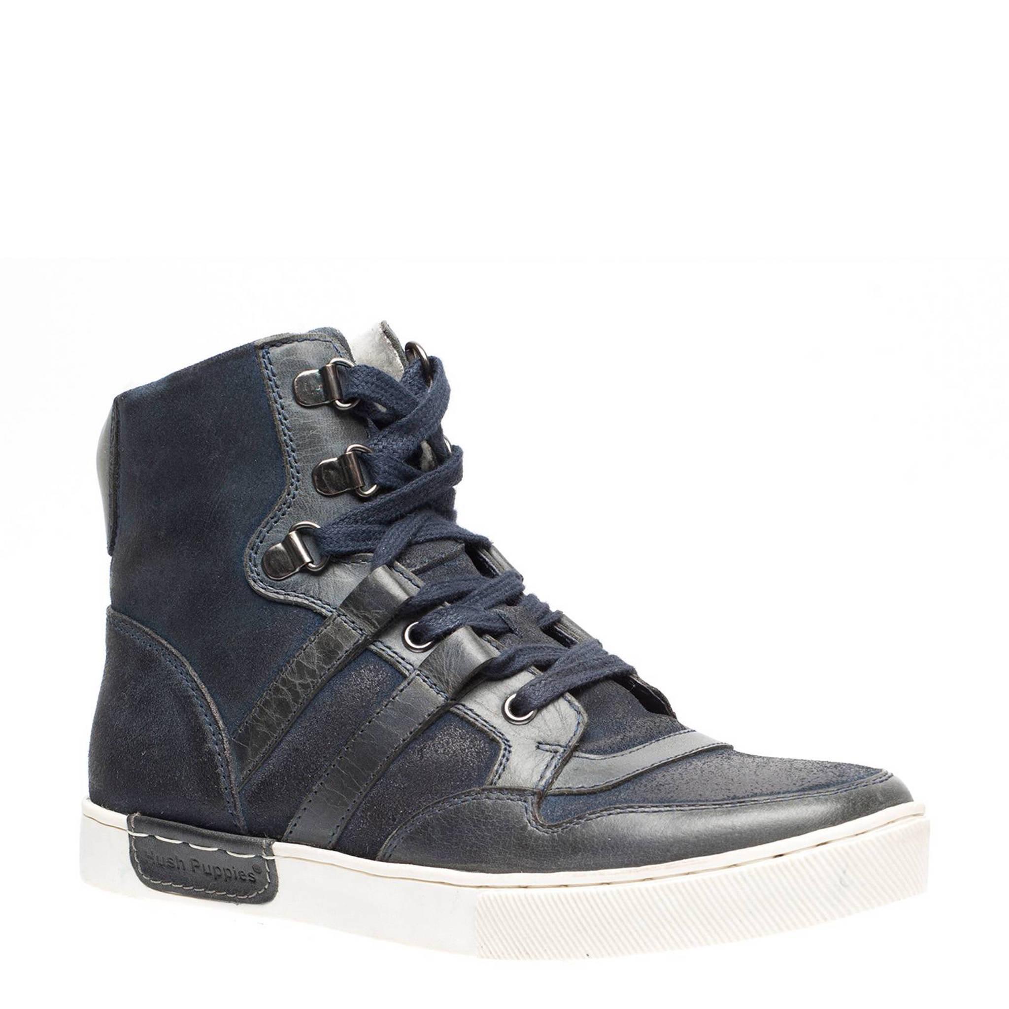 7f1164e69f6 Hush Puppies leren sneakers | wehkamp