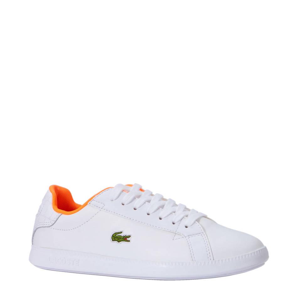 Lacoste Graduate 118 1 sneakers , Wit /oranje