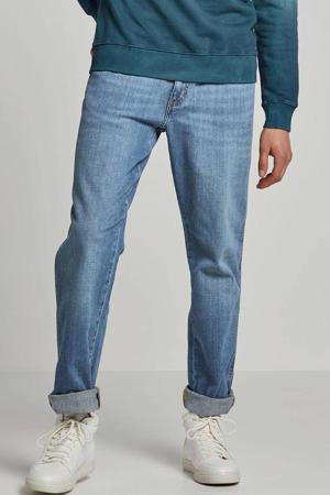 straight fit jeans Texas worn broke
