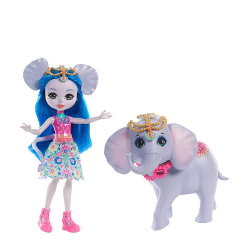 Enchantimals grote dieren - olifant modepop