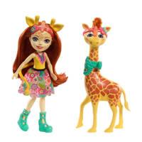 Enchantimals grote dieren - giraffe modepop