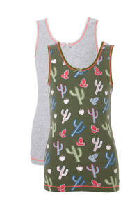 whkmp's own hemd (set van 2), Groen