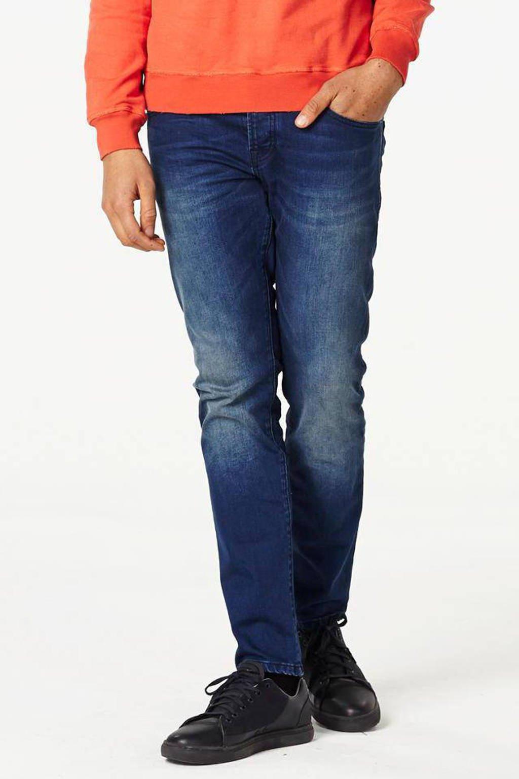 Scotch & Soda regular fit jeans Ralston donkerblauw, Winter Spirit