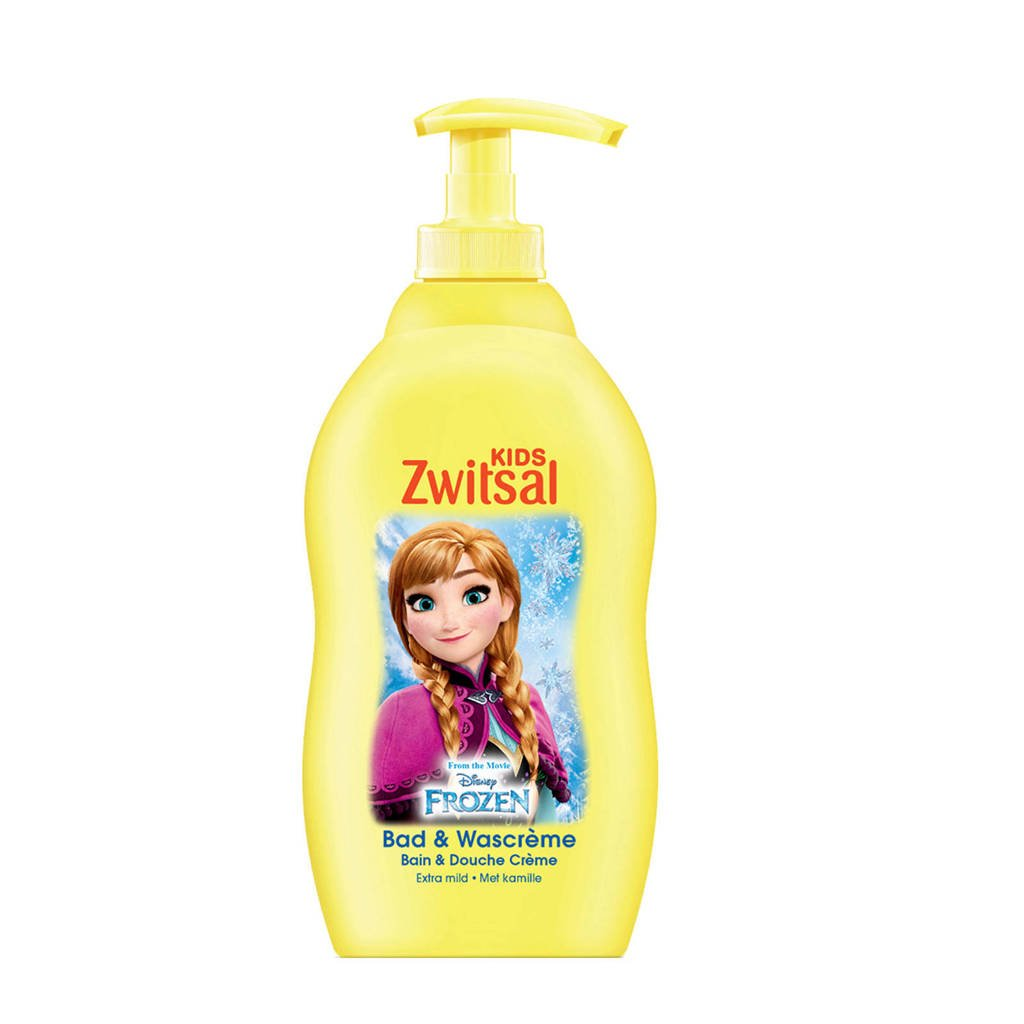 Zwitsal Disney Frozen bad- & douchecrème - 400 ml - kids