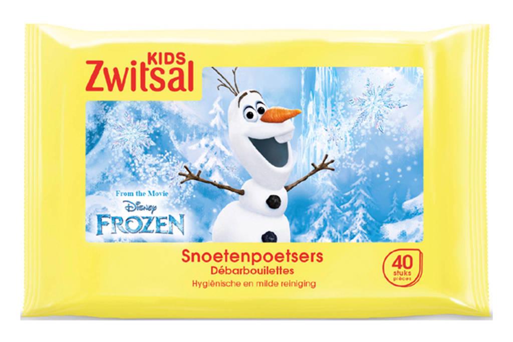 Zwitsal Disney Frozen snoetenpoetsers - 40 stuks - baby