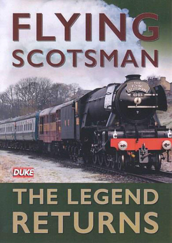 Flying Scotsman - The legend returns  (DVD)