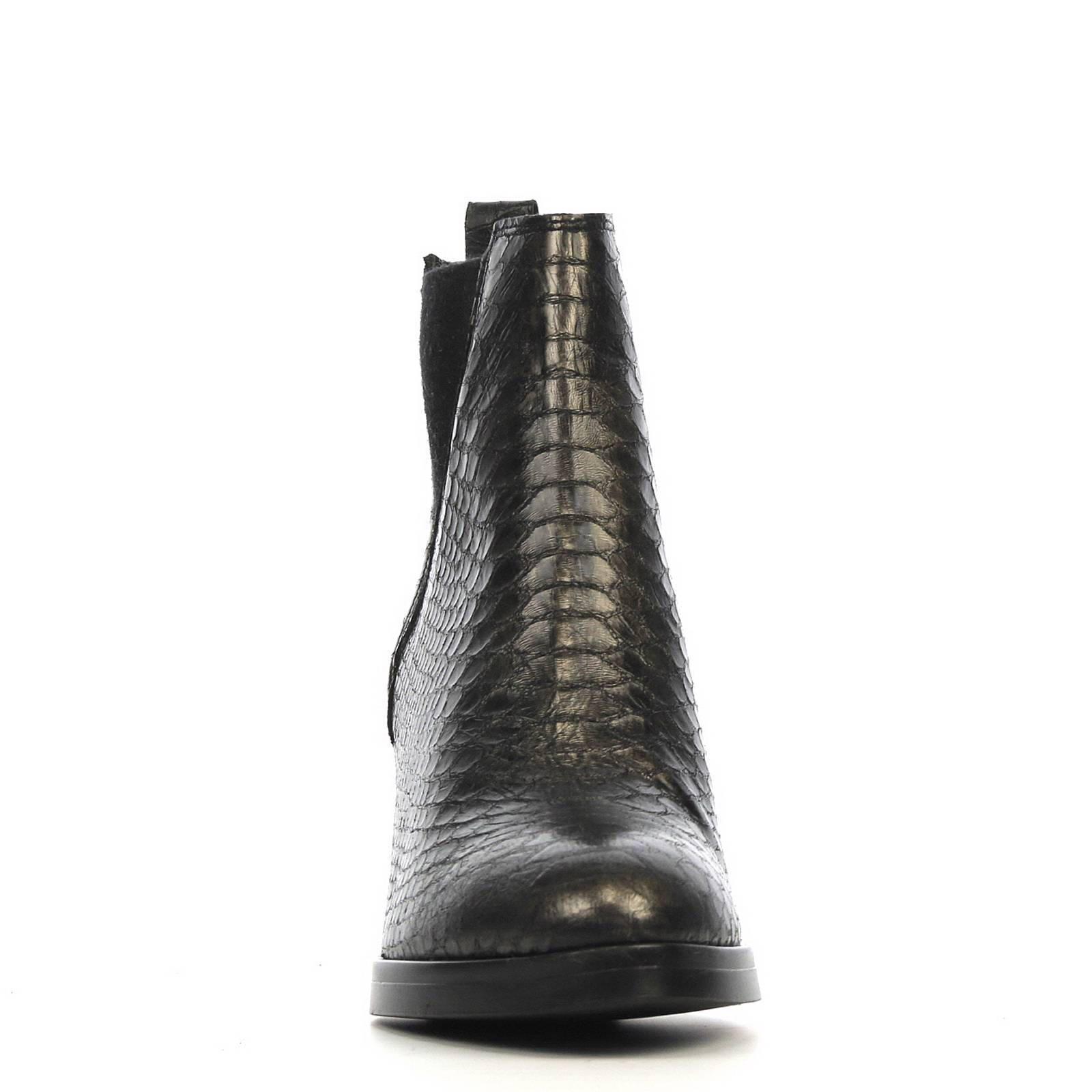 Fabio Deveraux leren chelsea boots | wehkamp