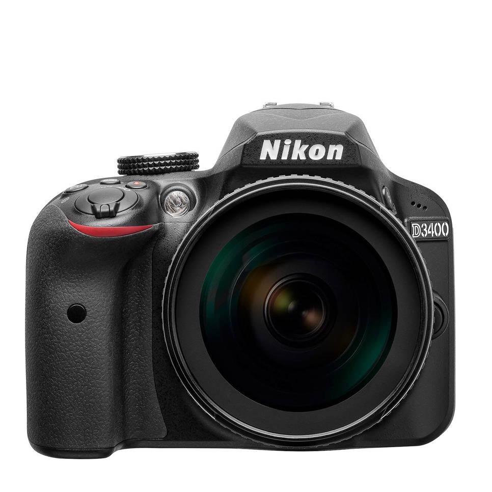 Nikon D3400 Kit AF-S DX 18-105mm VR spiegelreflex camera