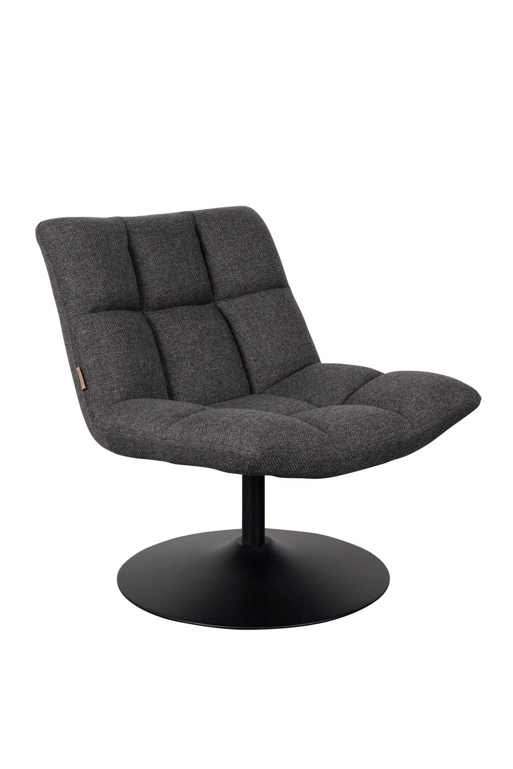 Dutchbone Bar Lounge fauteuil, Donkergrijs