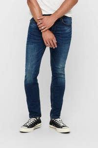 ONLY & SONS regular fit jeans Weft medium blue, Medium blue denim