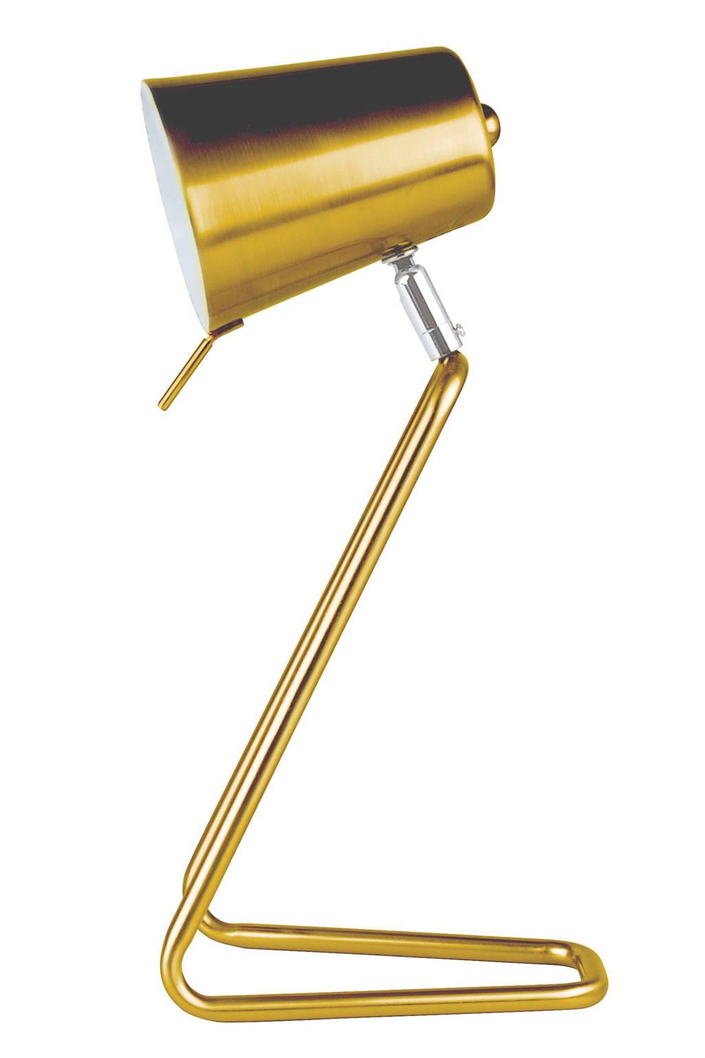 Leitmotiv bureaulamp Z, Goud