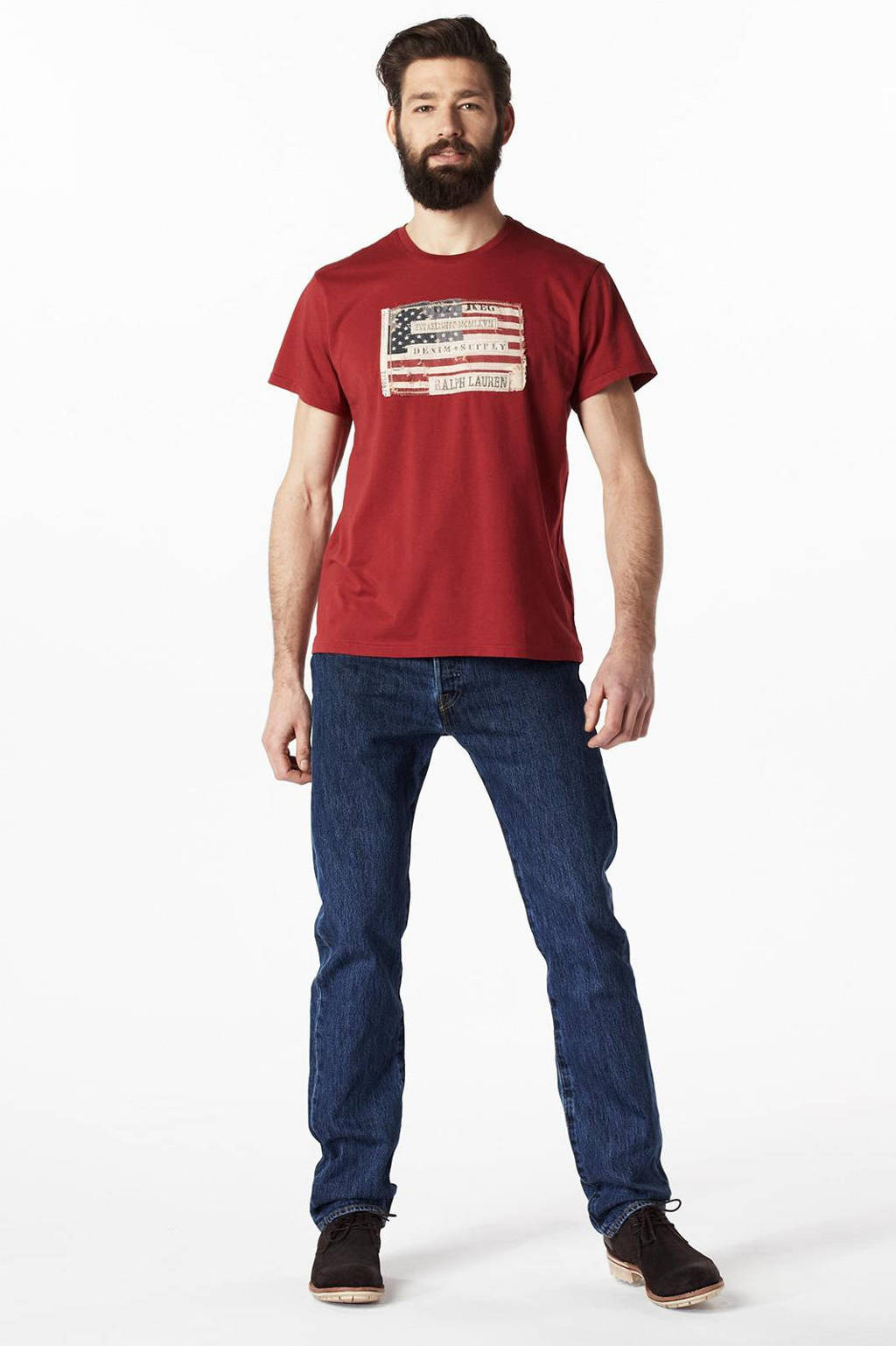 Levi's 501 regular fit jeans, Stone wash