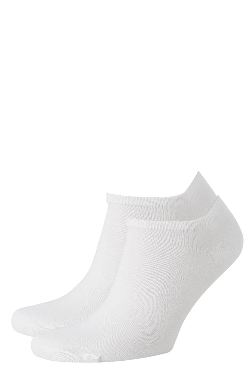 Tommy Hilfiger sneakersokken - set van 2 wit, Wit