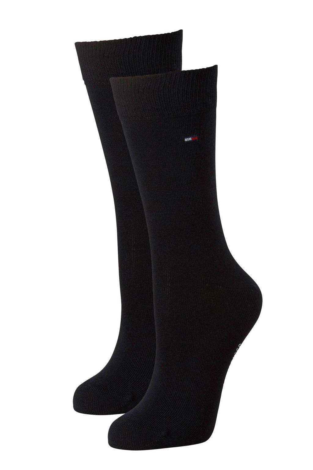 Tommy Hilfiger sokken (2 paar), Zwart