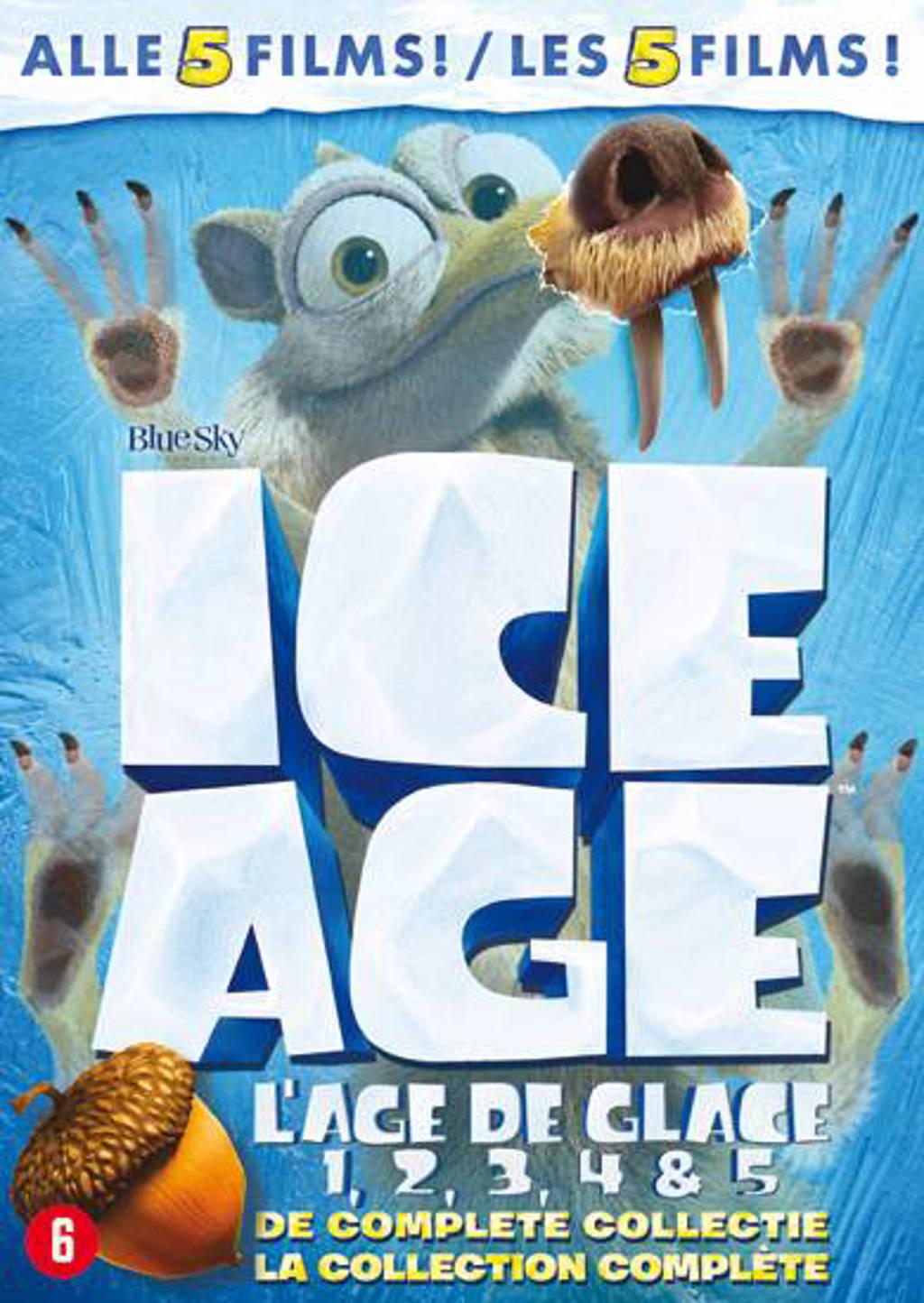 Ice age 1-5 (DVD)