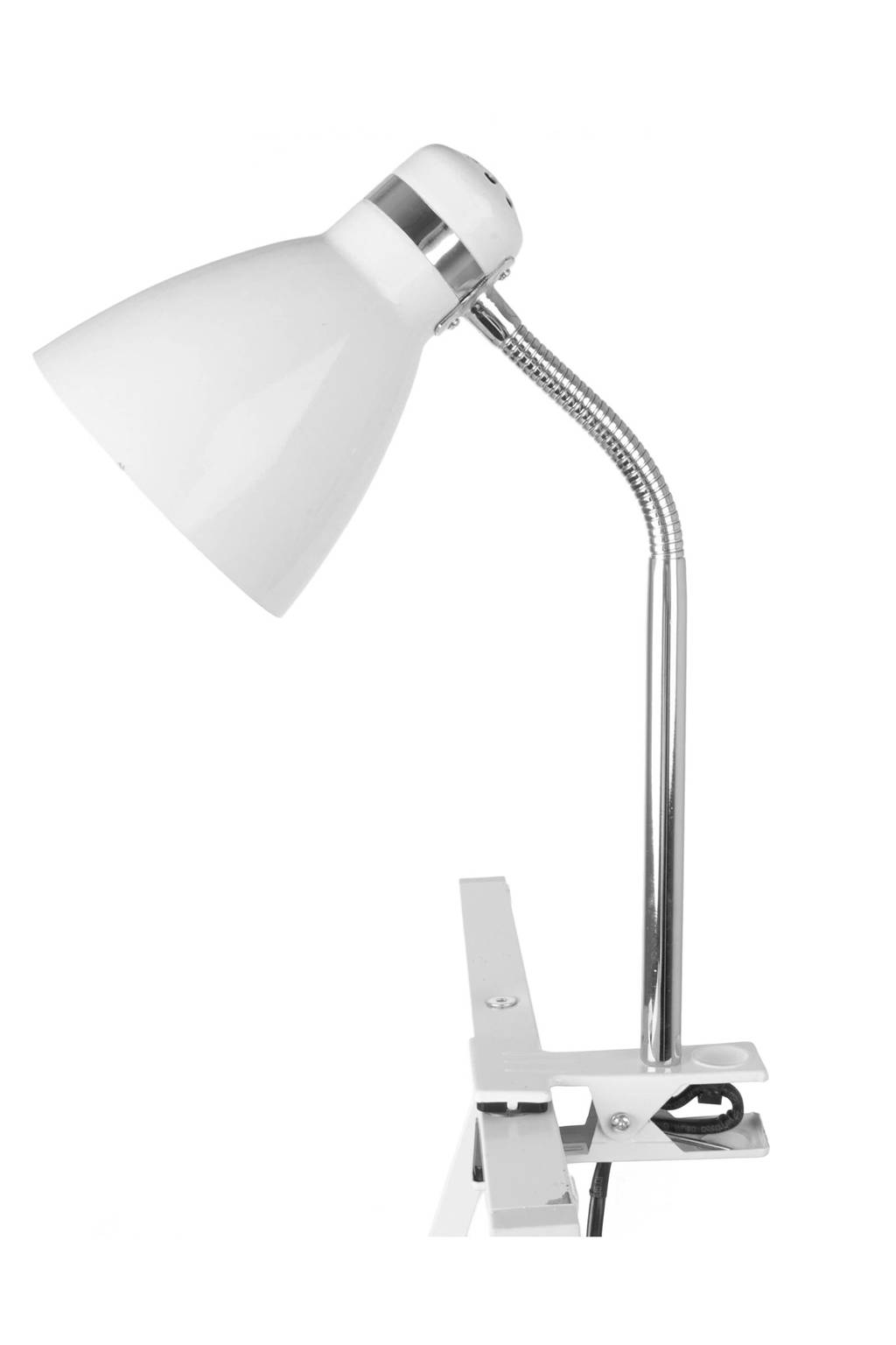 Leitmotiv Clip on lamp (34 cm), Wit
