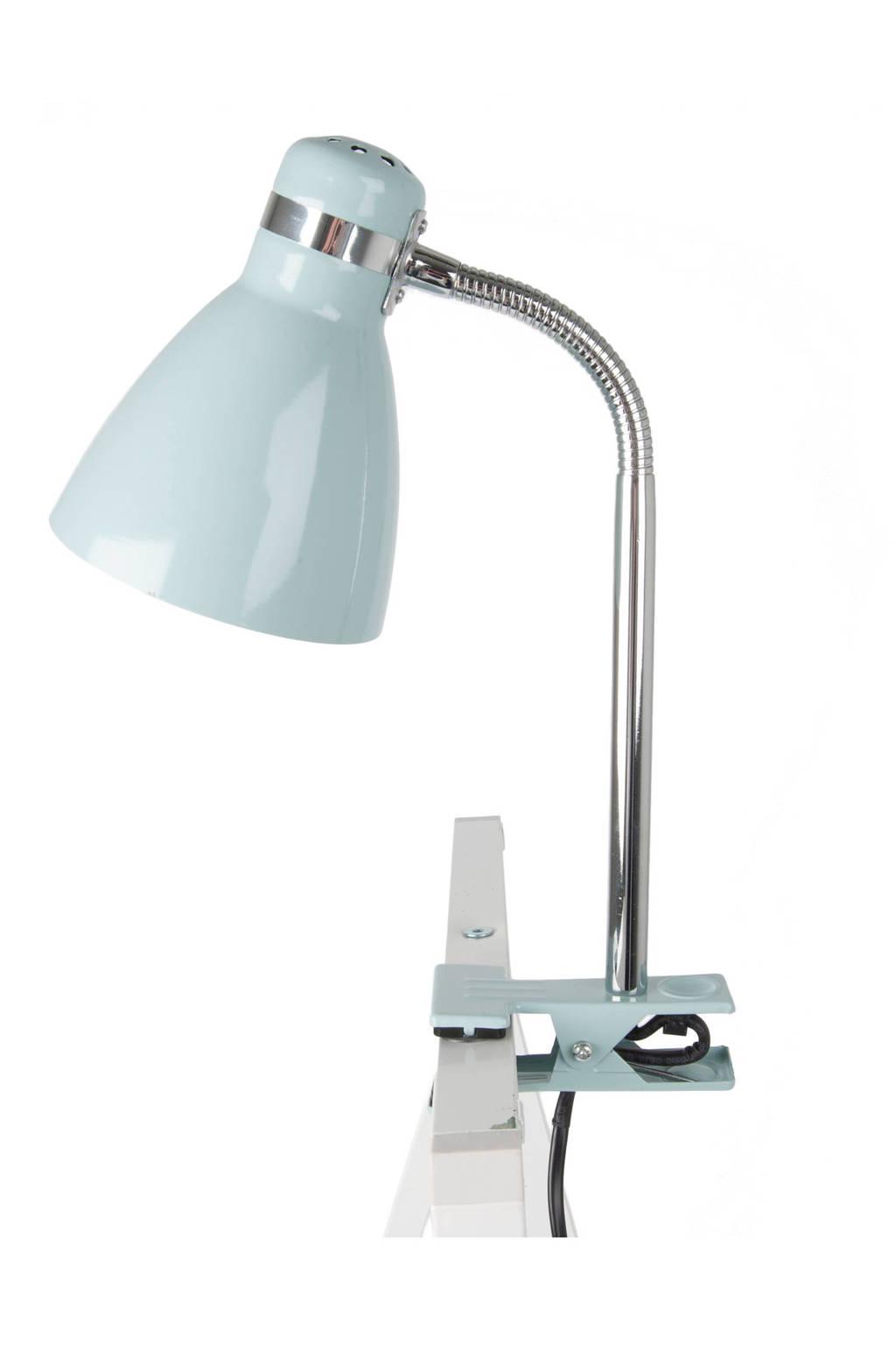 Leitmotiv Clip on lamp (34 cm), Lichtblauw