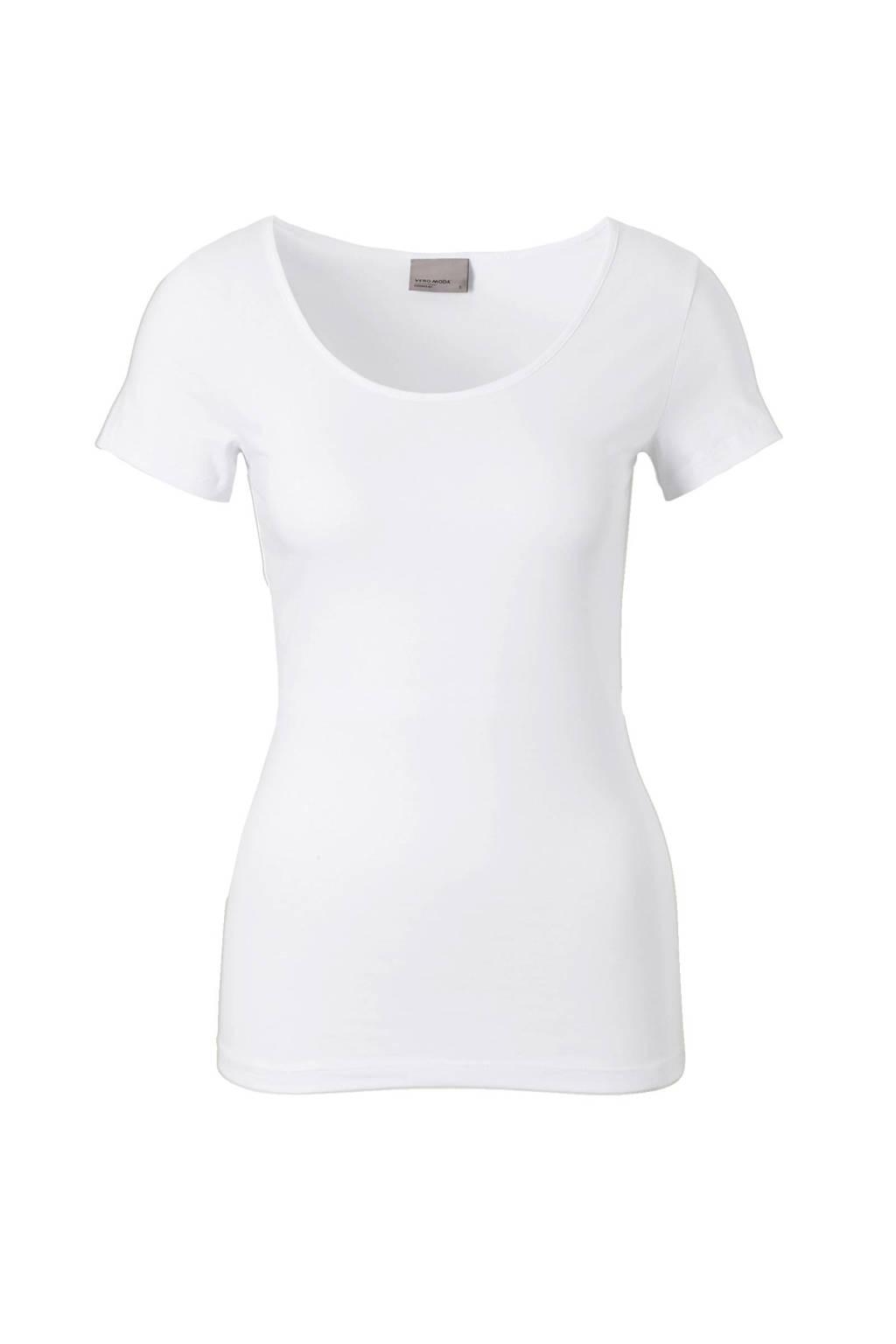 VERO MODA T-shirt, Wit
