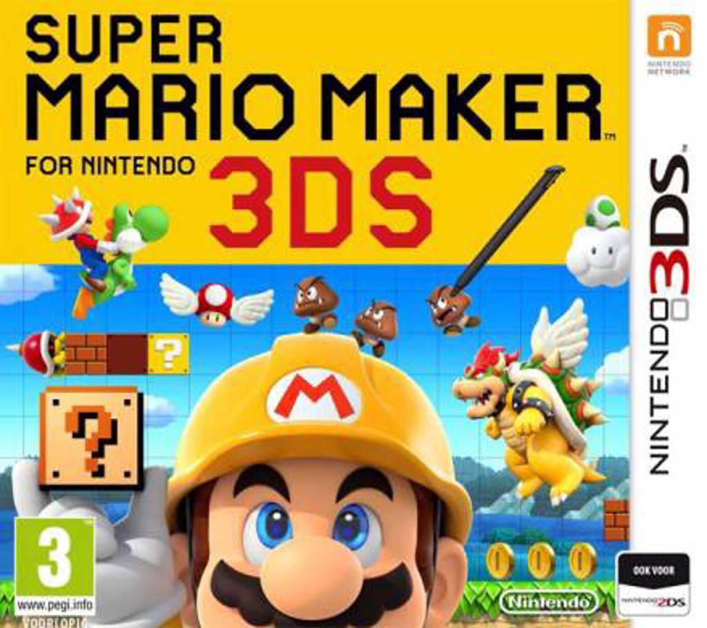 Super Mario maker  (Nintendo 3DS)