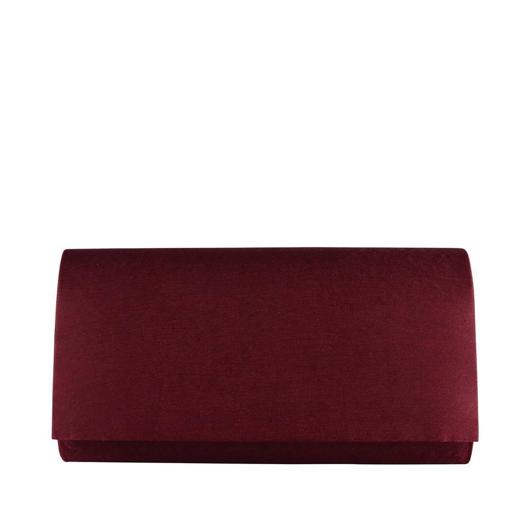 Bulaggi Part NOS clutch party clutch bordeauxrood, Bordeaux rood