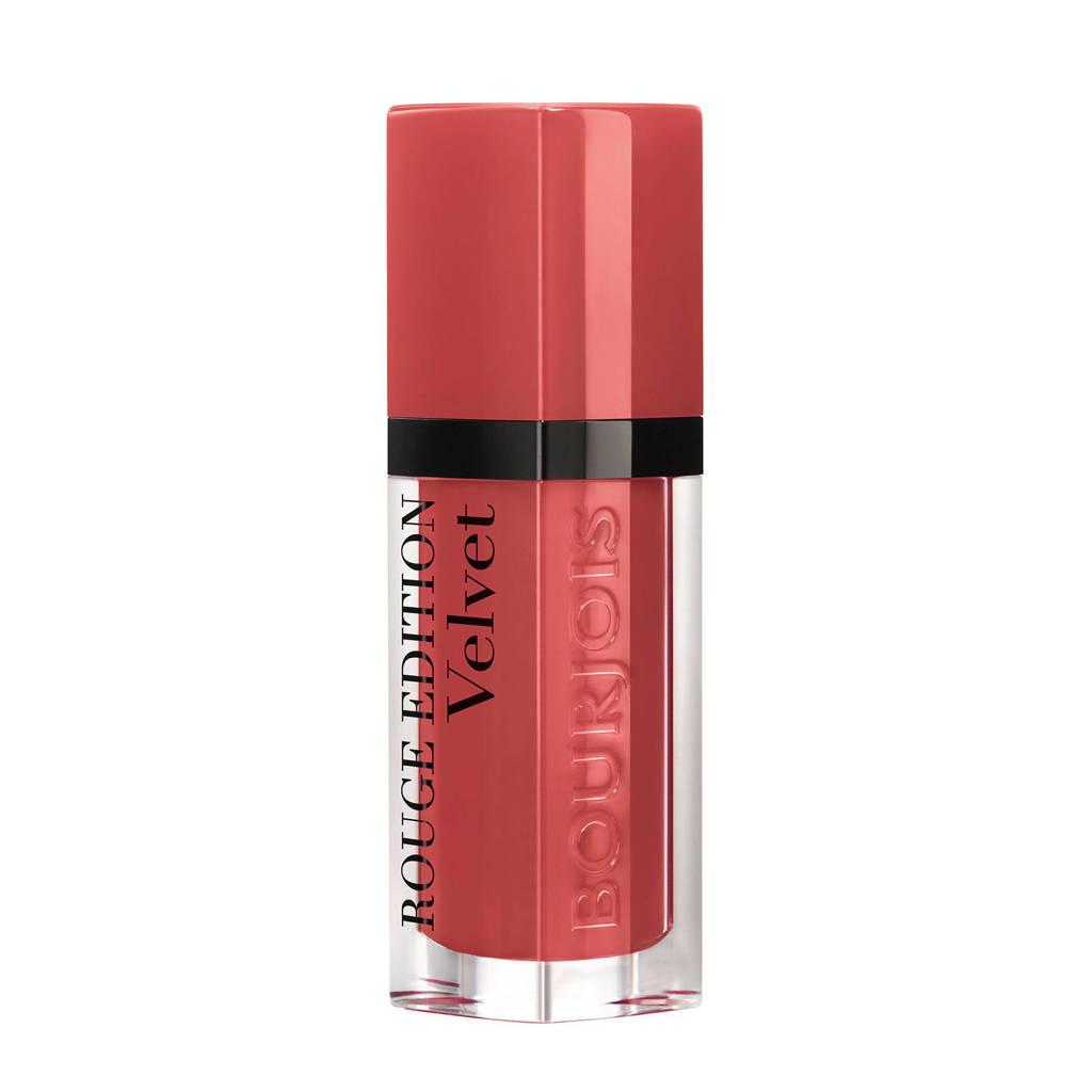 Bourjois Rouge Edition Velvet lippenstift - 04 Peach Club