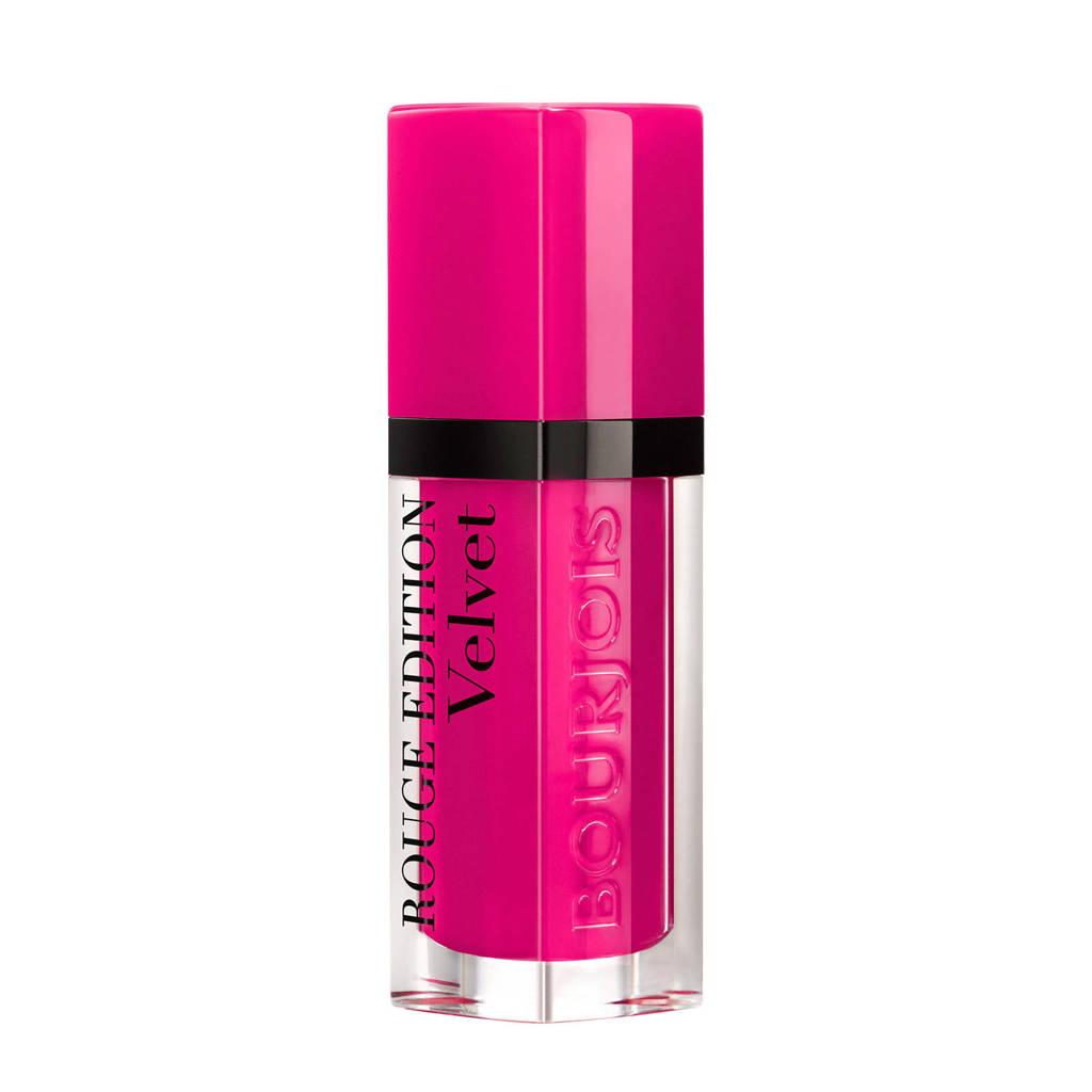 Bourjois Rouge Edition Velvet lippenstift  - 05 Olé Flamingo