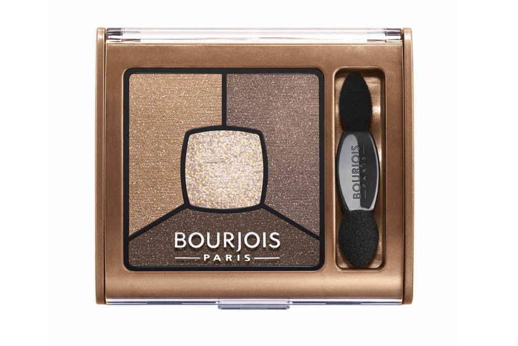 Bourjois Smoky Stories Quator oogschaduw palet - 06 Upside Brown