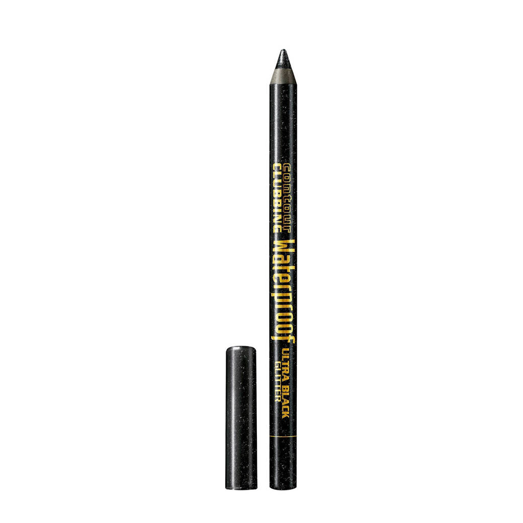 Bourjois Contour Clubbing waterproof oogpotlood - 55 Black Ultra Glitter