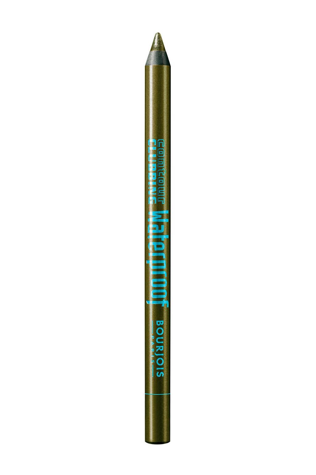 Bourjois Contour Clubbing waterproof oogpotlood - 62 So Kaki'Smatique