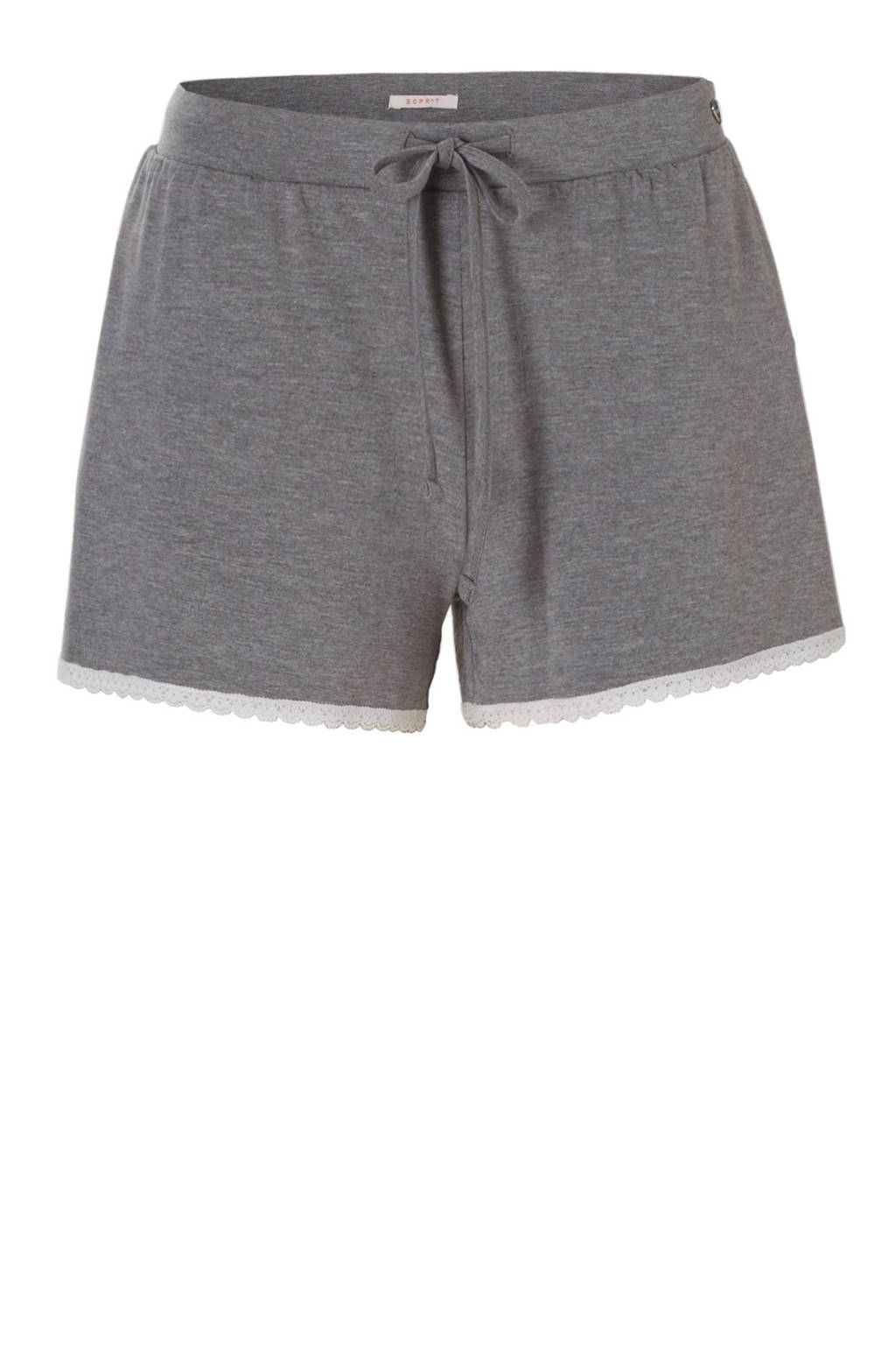 ESPRIT pyjamashort, Grijs melee