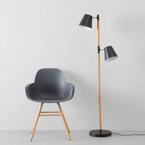 Leitmotiv Rubi Vloerlamp Zwart