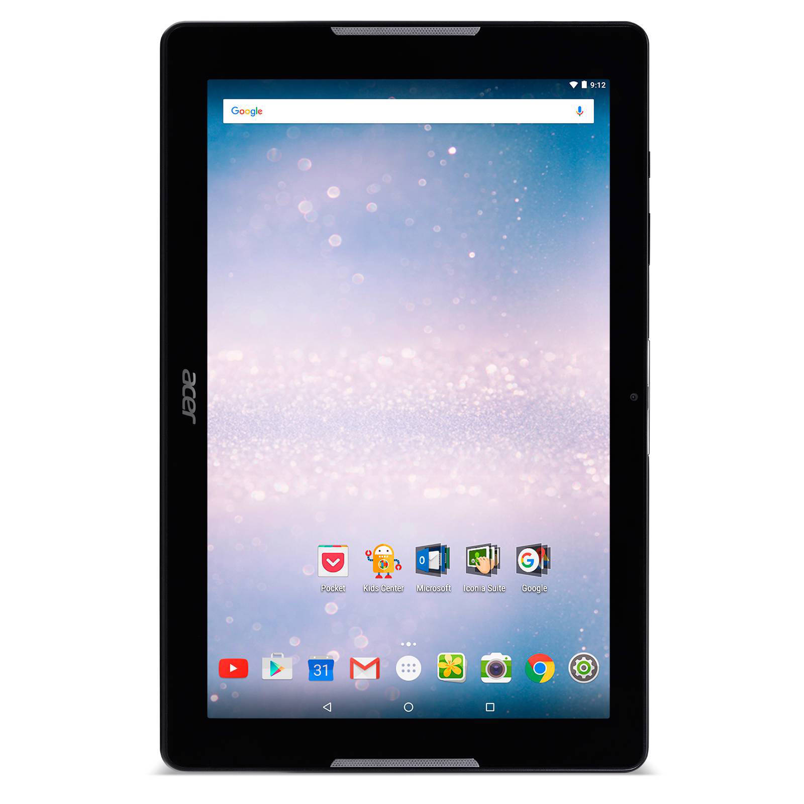acer iconia tab 10 b3 a30 10 1 inch tablet zwart