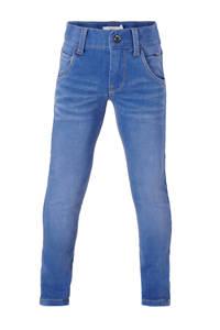 NAME IT x-slim fit jeans NITCLA zwart stonewashed, Medium blue denim