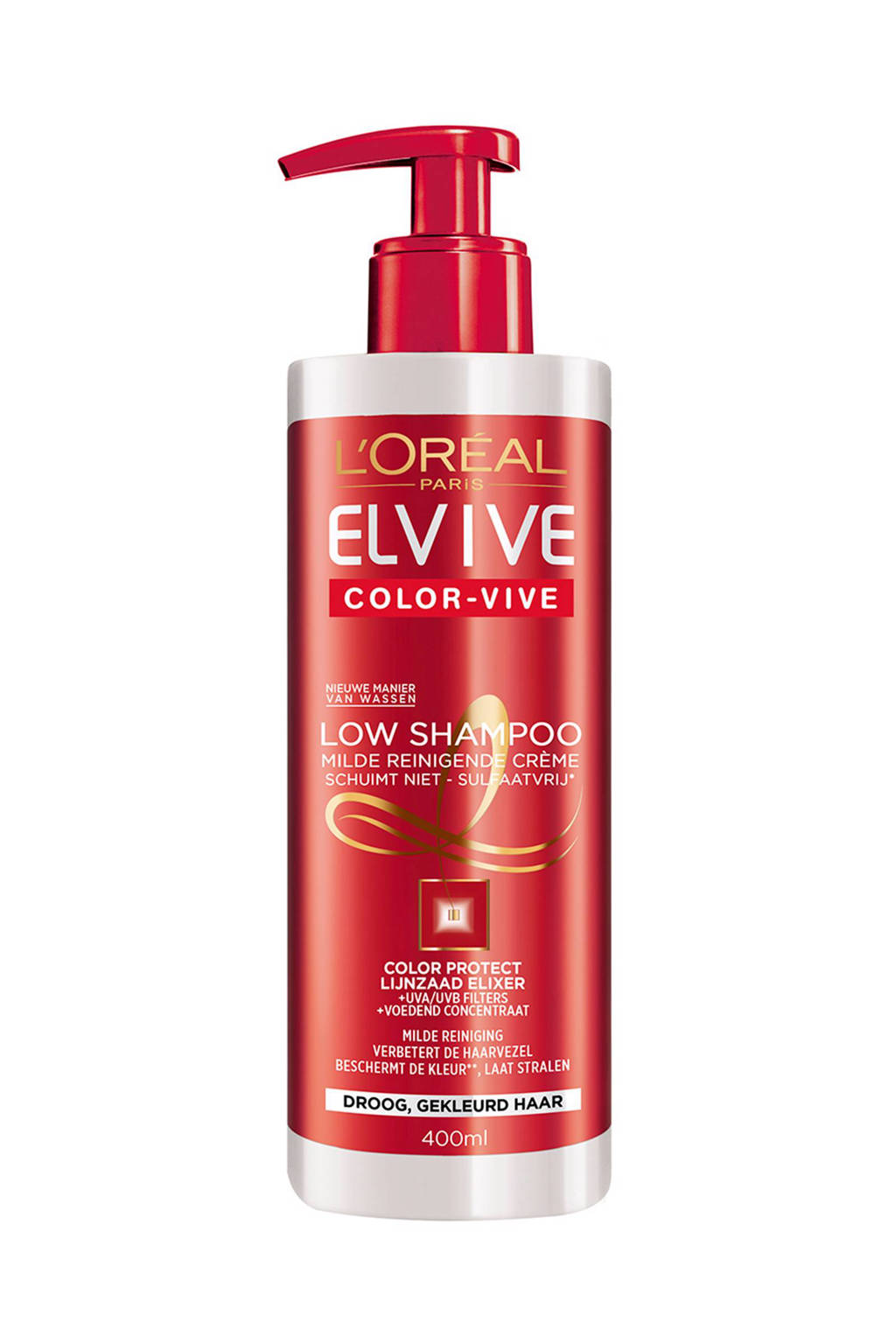 L'Oréal Paris Elvive Color Vive Low shampoo - 400 ml
