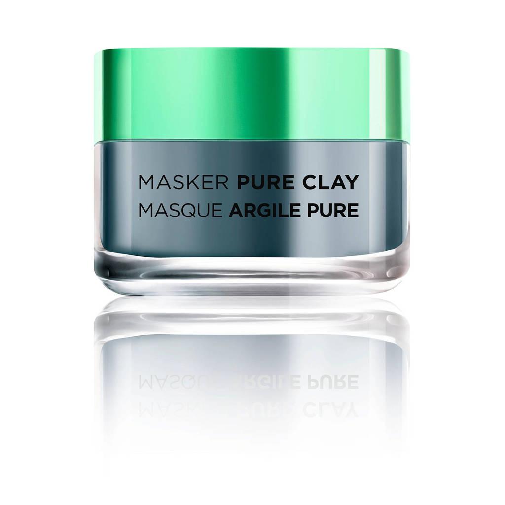 L'Oréal Paris Skin Expert Detox Pure Clay gezichtsmasker - 50 ml