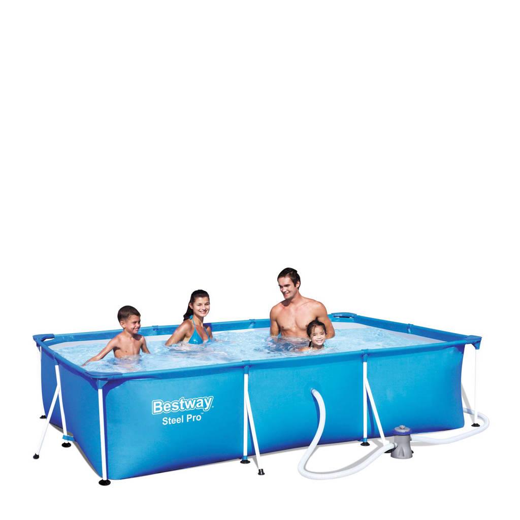 Bestway Frame zwembad 300 x 201cm, Blauw