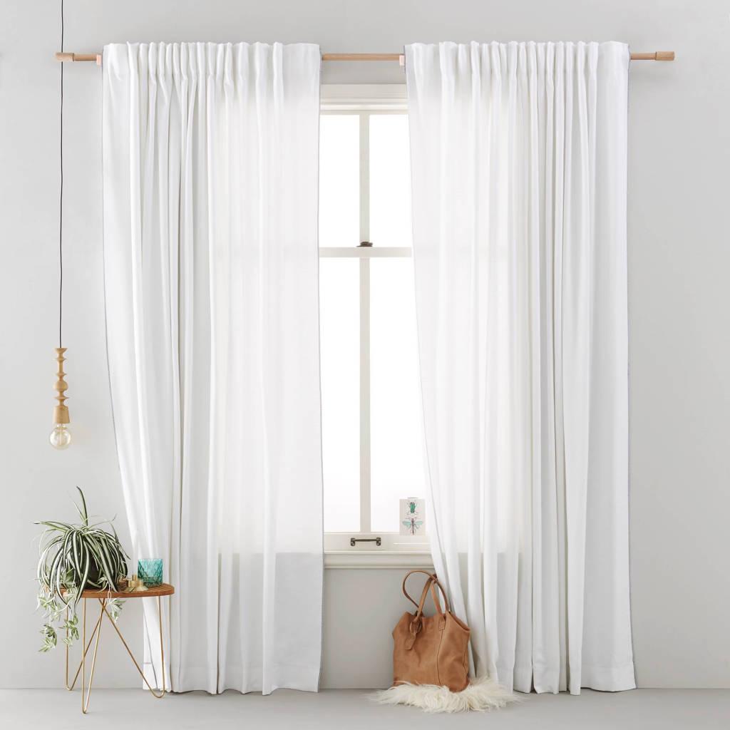 whkmp's own gordijn (135x270 cm), Wit